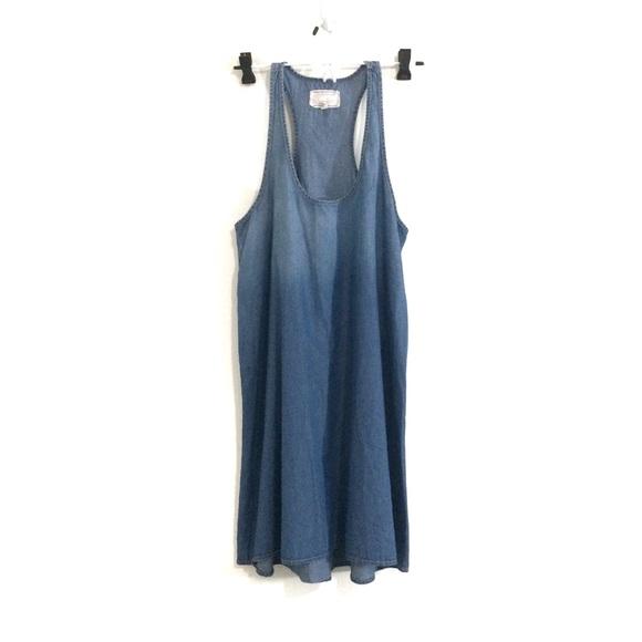 Current/Elliott Dresses & Skirts - Current/Elliott Day Camp Tank Chambray Dress